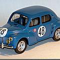 Renault <b>4cv</b> Le Mans 1950 ...