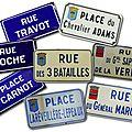Inventaire des rues vendéennes : chantonnay (85)