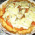 Tarte tomate bresse bleu