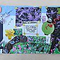 loiseau logan art postal fête du fil 2013