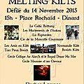 Affiche et programme du 14 novembre