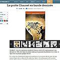 La grotte chauvet en bd - critique du figaro
