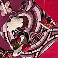 Mobile ShanafriK' - Zoom sur tour de lit - tous les papillons