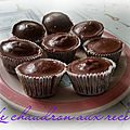 Cupcakes choco-cannelle