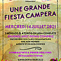 Ganaderia <b>BARCELO</b> Fiesta Campera exceptionnelle 14 juillet 2021
