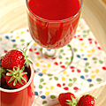Smoothie 100% pur rouge & pur printemps