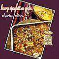 Courge spaghetti en gratin au chorizo & olives - challenge fins de mois difficiles - fdmd #1