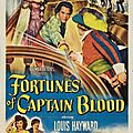 FORTUNES OF CAPTAIN <b>BLOOD</b>