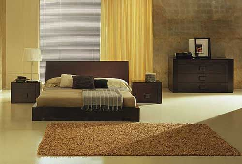 Chambre Design Beige Marron  Photo De Chambres Design  Deco Design