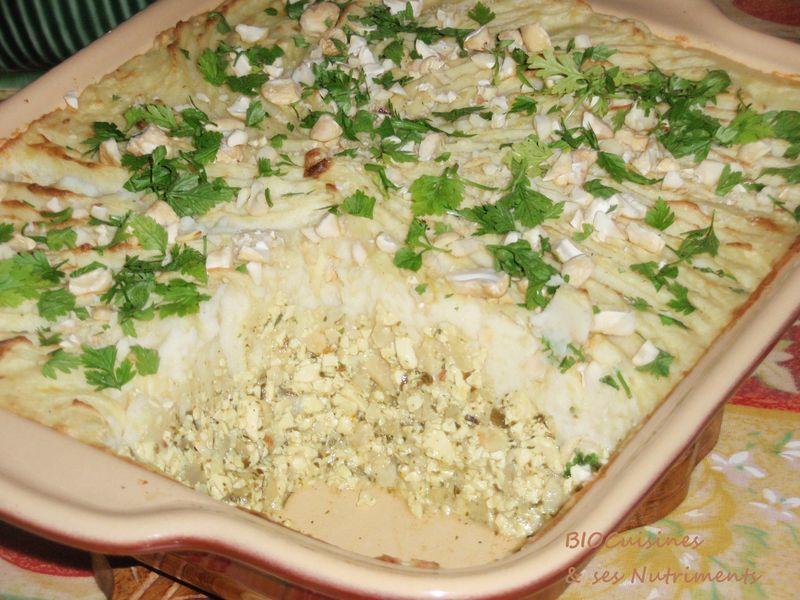 parmentier au tofu