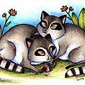 Kickstarter & raccoons