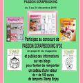 2ème blog candy chez passion scrapbooking