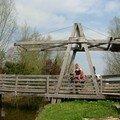 Petit pont au bord de la réseve naturel du romelaëre