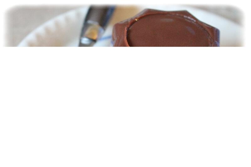 Crème chocolat à démouler 6