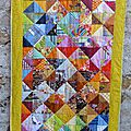 Cadeaux fait maison : patchwork, maniques et sacs