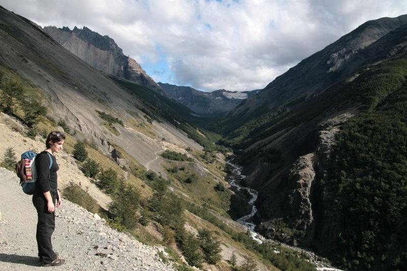 sentier Trek Las Torres et nolwenn