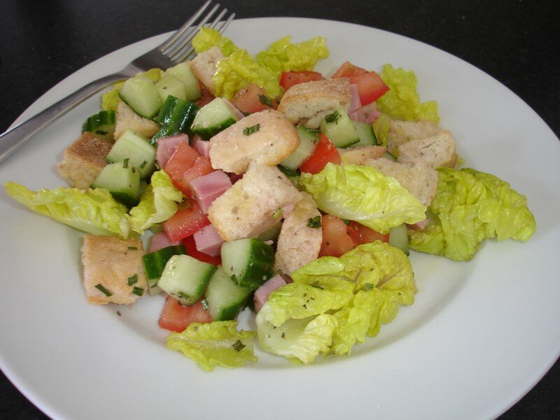 Salade toscanne di t tique ana s cuisine gourmande - Cuisine legere et dietetique ...