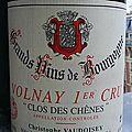 Volnay 1er Cru Clos des Chênes 2002 - Christophe VAUDOISEY