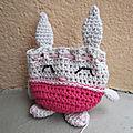 Test <b>crochet</b> - Bunny Pouch...