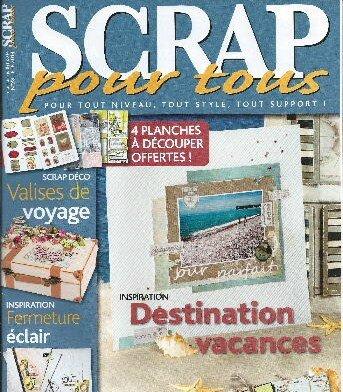 Magazine Scrap pour Tous mai 2014 couv