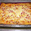 Pizza pommes de terre / cancoillotte
