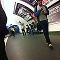 Mecs du métro parisien