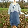 2012-11 ensemble gilet + robe marinette b