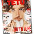 Julien doré cover boy pour têtu