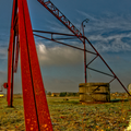 Rusted gantry (canon eos 7d hdr)