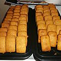 Mini financiers noisettes-amandes