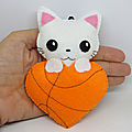 Décoration basketball <b>chat</b>
