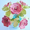 Petit bouquet de fleurs en papier