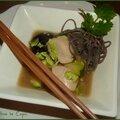 Marmite chinoise de poulet aux shiitakes