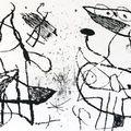 Le courtisan grotesque_Eau-forte et aquatinte_Joan Miro 1974