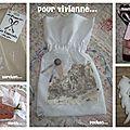 Pochon pour Viviane...