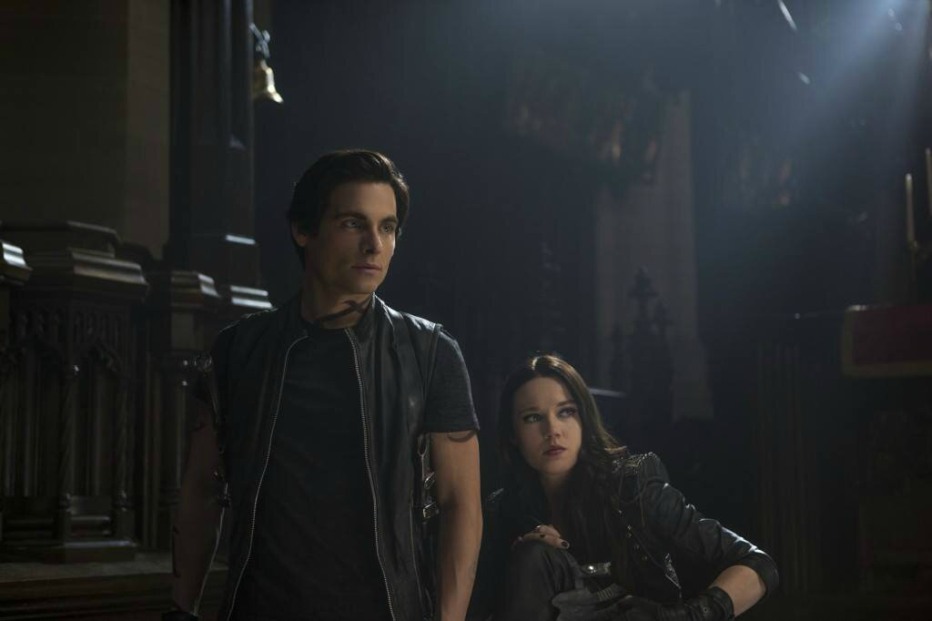 Alec and Isabelle Lightwood City of Bones