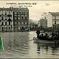 113 - rue de seine - inondations 1910.