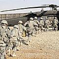 Le retrait des <b>troupes</b> américaines d'Irak est une