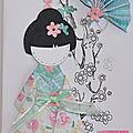 Passion Cartes Créatives - concours du magazine 58 : un <b>combo</b> <b>couleurs</b>