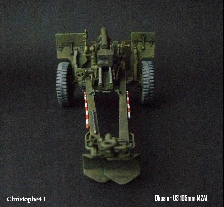 Obusier US M2A1 105mm - PICT3299