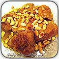 Tajine de poulet aux <b>amandes</b>