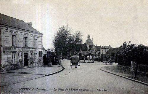Le Breuil - l'église et l'hôtel Saint-Pierre