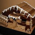2009 06 10 Chalet en bois fait par Cyril Treveys à l'école en pâte à décor
