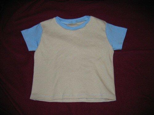Gwenn - Tshirt bicolore