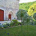 réfectoire et jardin