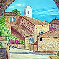 14 - juil 04 - Village de Provence