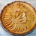 La tarte aux pommes classique de chez classique