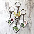 Porte-clés coeur ...............