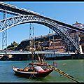 Porto : ponte Dom Luis I