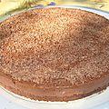 Cheesecake tout chocolat et à la nutella sans cuisson